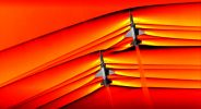 NASA сделала первую в мире фотографию взаимодействия ударных волн от двух сверхзвуковых самолетов